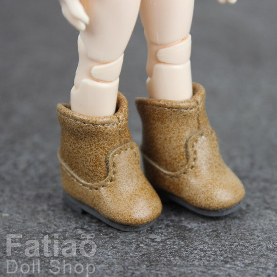 Pink Fatiao New fit for pukipuki Brownie Middie Blythe BJD Doll Shoes Boots