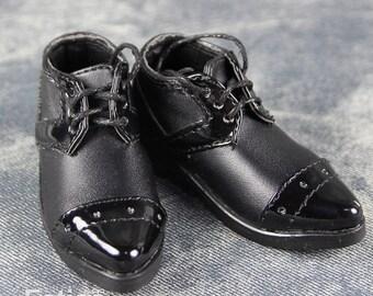 Fatiao - New 1/4 BJD Dollfie MSD High Heeled Shoes - Black (Size 5.5cm)
