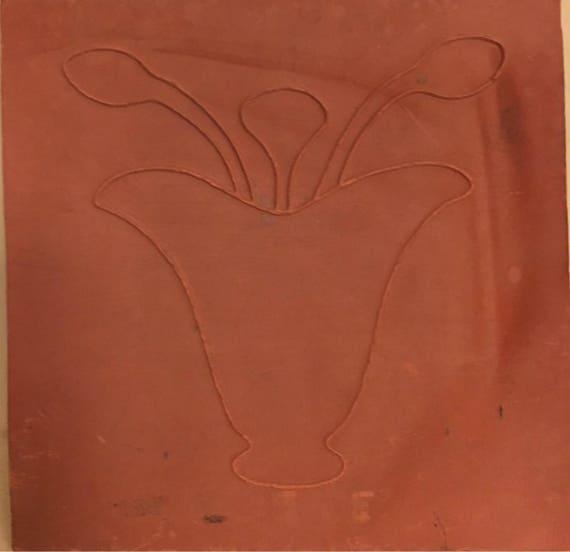 Van Briggle Pottery Tile Single Plain