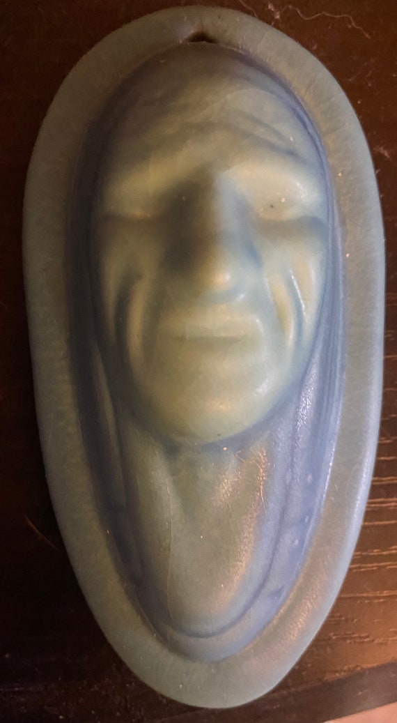 Van Briggle Native Vintage 1920/30 plaque or paperweight