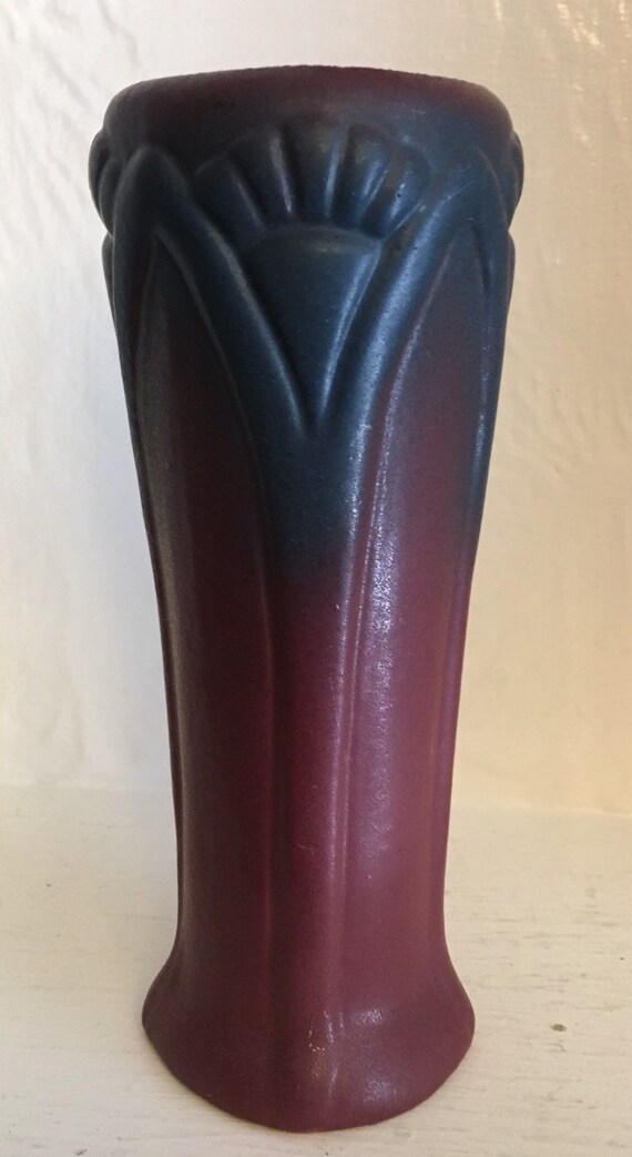 Van Briggle Pottery 1920 USA Mullberry Art Deco Vase