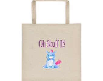 Oh Stuff It Unicorn Tote Bag