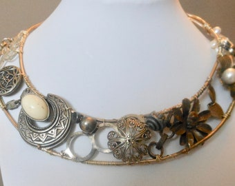 Hand made OOAK Wholesale Vintage Collar Necklace