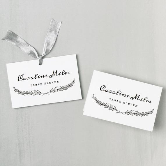 Instant Printable Wedding Program Template