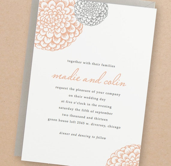 printable wedding invitation template instant download etsy