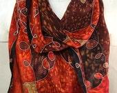 Autumn Reds Patchwork - H...