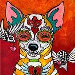 Italian greyhound, greyhound art print, whippet, courtsart, pet portrait, print 10x16 inch
