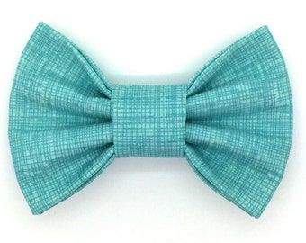 Summer Breeze Snap-In Dog Bows® Bow Tie - Dog Bow Tie, Cat Bow Tie, Dog Snap Bow, Dog Bow, Dog Hair Bow, The Best Bow For Your Best Friend