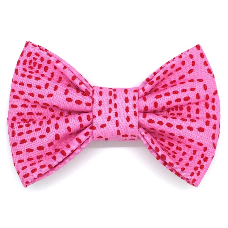 Easy To Use Pet Bow Tie Crazy Love Snap-In Dog Bows\u00ae Bow Tie Dog Bow Tie Dog Hair Bow Cat Collar Bow Pet Harness Bow Cat Bow Tie