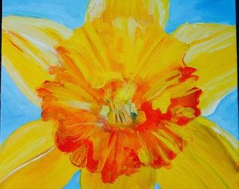 Daffodil, original artwork