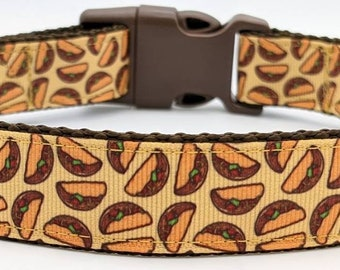 Taco Tuesday Dog Collar / Mexican Food