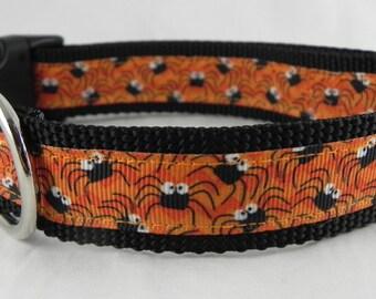 Chevron Spider Dog Collar