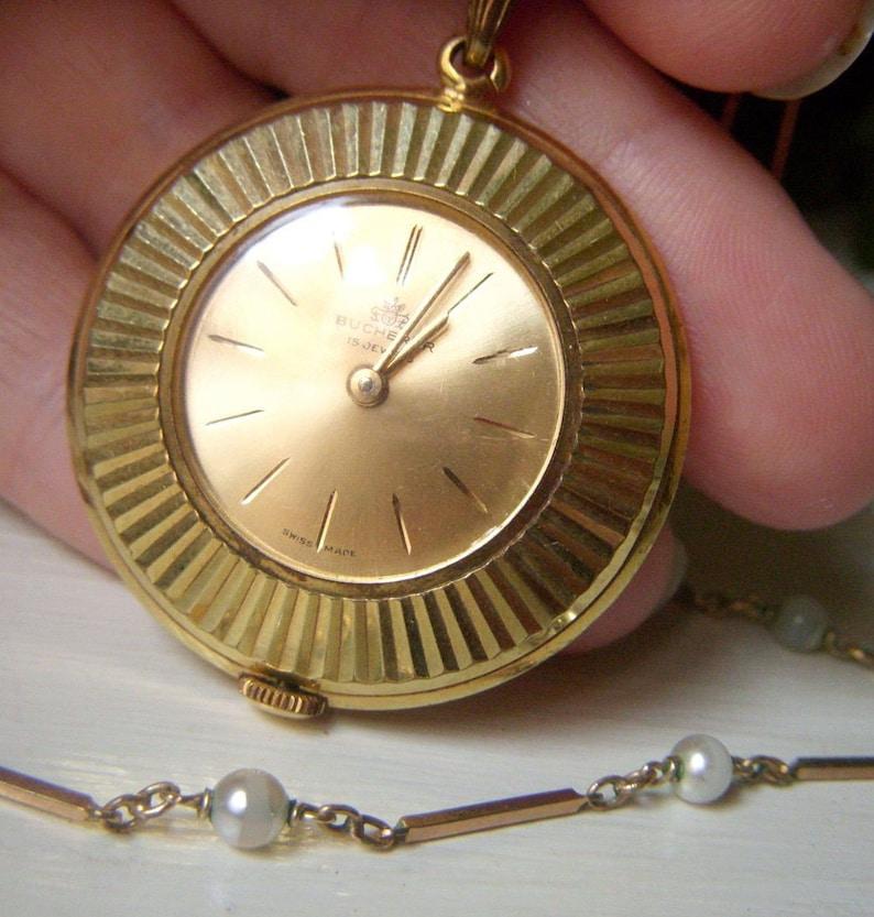 d41a7b0d7 On Sale Clearance Antique Bucherer Pocket Watch Womens | Etsy
