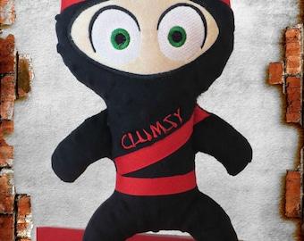 Clumsy Ninja doll custom made