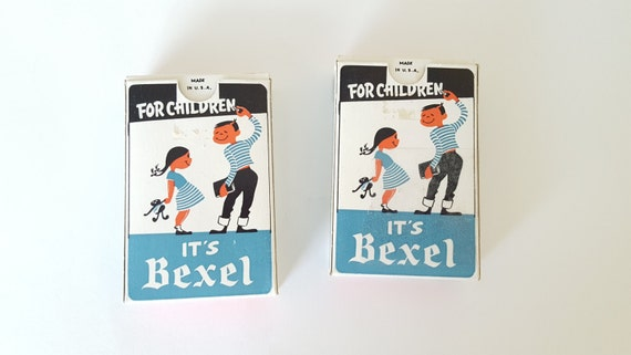 Vintage It/'s Bexel card deck for children playing cards