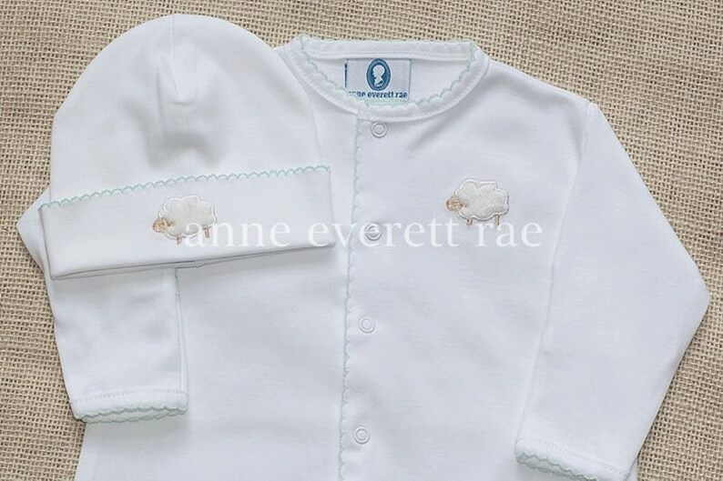 Unisex Baby Clothes Coming Home Outfit Lamb Converter Etsy