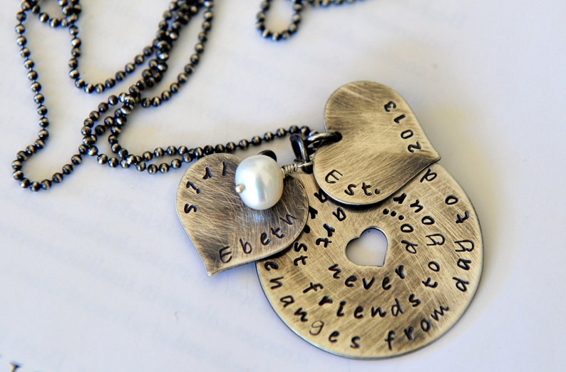 Friendship Necklace Girlfriend Gift Best Friends Jewelry