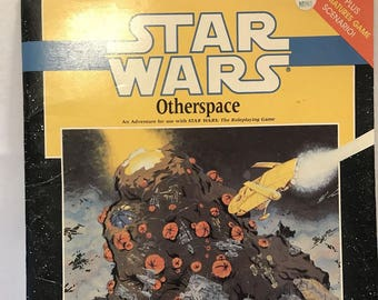 Star Wars Other Space The Role Playing Game Book Near Mint Condition 1989 Vintage Book