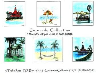 Coronado Note Card Set