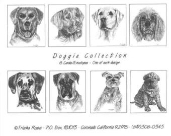 Doggie Note Card Set