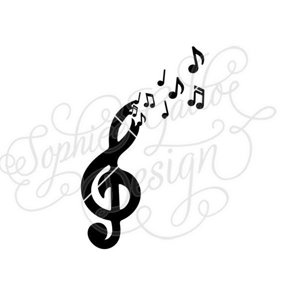 Free the Music SVG DXF digital download files for ...