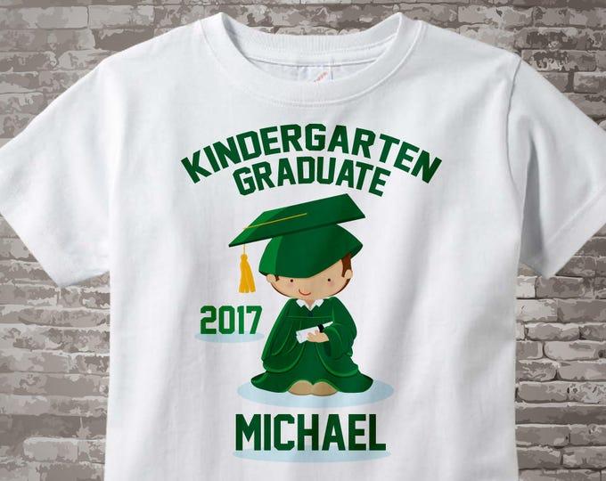Personalized Kindergarten Graduate Shirt, Kindergarten Graduation Shirt Child's Back To School Shirt 05222014f