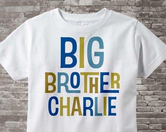 Boy Toddler, Big Brother Shirt, Announcement Shirt, Big Brother Gift, Big Brother, Boy's Toddler Shirt, Boys Clothing, Custom 12172013b