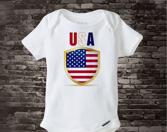 4th July Onesie | 4th of July Tee Shirt or Onesie | USA July 4th Onesie | 4th July Shirt or Onesie | 1st 4th July 06202017g