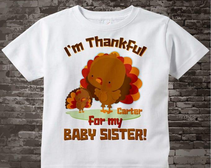 Turkey Big Brother Shirt - Thanksgiving Big Brother Shirt - Big Brother Little Sister Shirt - Brother Gift - Thanksgiving shirt  11122014i