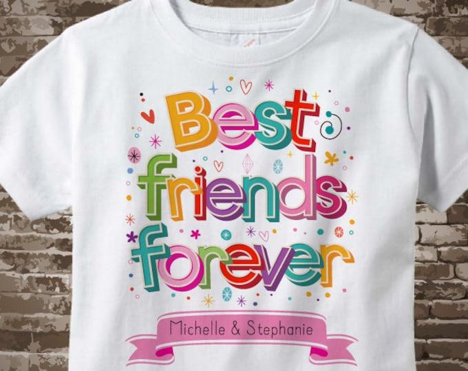 Best Friends Gift, Best Friends Shirts or Onesies, Best Friends Forever Personalized Shirts or Onesie Bodysuits 07132018a