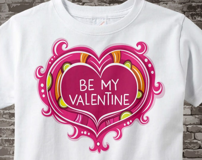 Kids Valentine shirt, Girl's Valentine shirt, Valentines day shirt, Valentine Shirt Girls clothing, Valentines day Outfit 01202017j