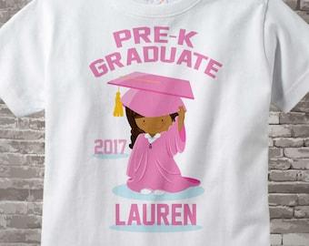 Personalized Pre-K Graduate Shirt Pre-Kindergarten Graduate Shirt Child's Back To School Shirt 04182016a