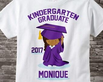 Personalized Kindergarten Graduate Shirt Kindergarten Graduate Shirt Child's Back To School Shirt 05112015g