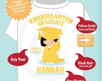 Personalized Kindergarten Graduate Shirt Kindergarten Graduate Shirt Child's Back To School Shirt 05222014g