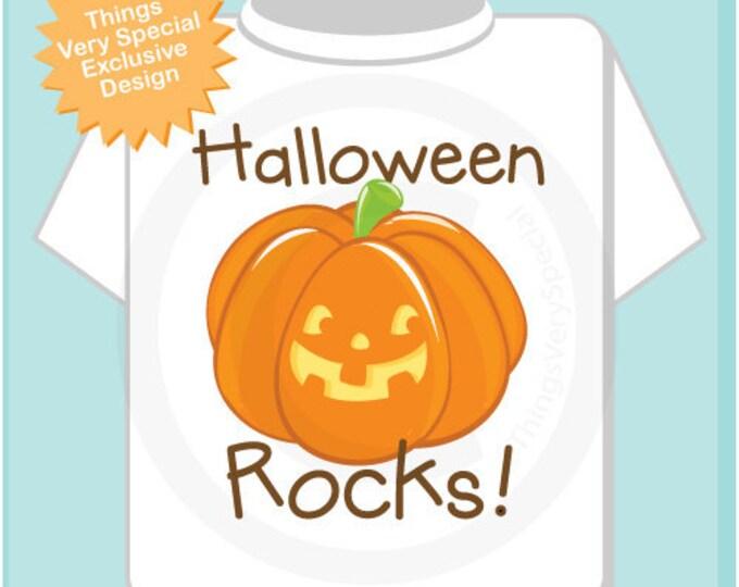 Halloween Shirt, Pumpkin Shirt, Halloween Rocks Shirt, Halloween Shirt or Onesie