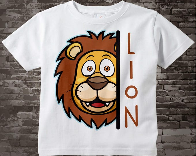 Leo Zodiac, Lion t-shirt or Onesie Bodysuit for children, cotton tee shirt or Onesie Bodysuit with Lion head. Great Leo gift 10062017a