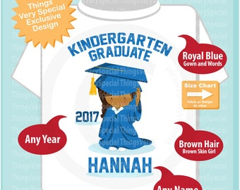 Kindergarten Graduate Shirt, Kindergarten Graduation Shirt, Personalized for your little girl with year and name 04192019d