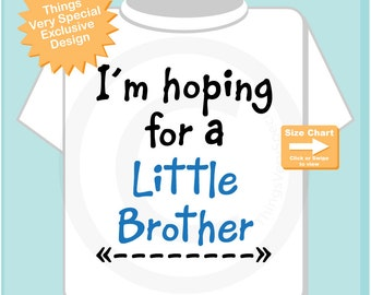 I'm hoping for a Little Brother, Gender Reveal  Pregnancy Announcement (07062015c)