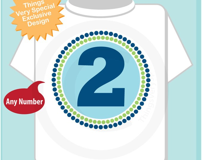 Two Year Old Birthday Shirt - 2 Year Old Gift - Two Year Old Boy - 2 year Old birthday shirt - Two Year Old Outfit 02062014e