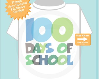 100 days of school shirt, 100th day of school shirt, 100th day shirt, 100 days of school cotton t-shirt 09052018b