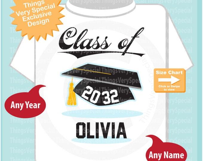 Class of 2032 Future Graduate Shirt, Personalized Graduation Shirt Future Graduation Shirt any year Child's Back to School Shirt 03202019c