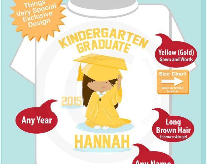Personalized Kindergarten Graduate Shirt Kindergarten Graduate Shirt Child's Back To School Shirt 05222015c