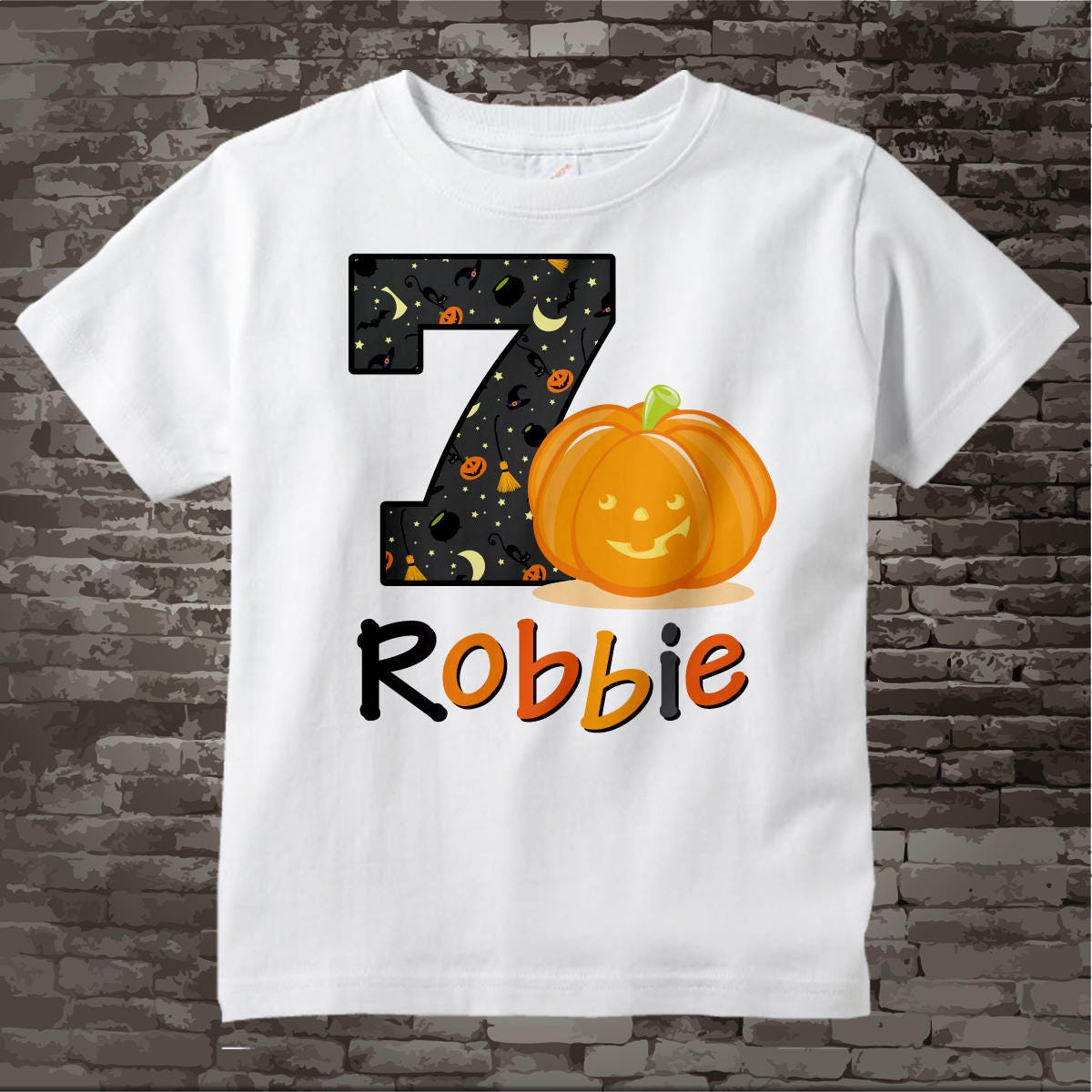 ed665d9d2 ... 7th Birthday Halloween Theme Tee Shirt, Short or Long Sleeve  10092017az. gallery photo gallery photo. $14.99. Spend $43 and ...