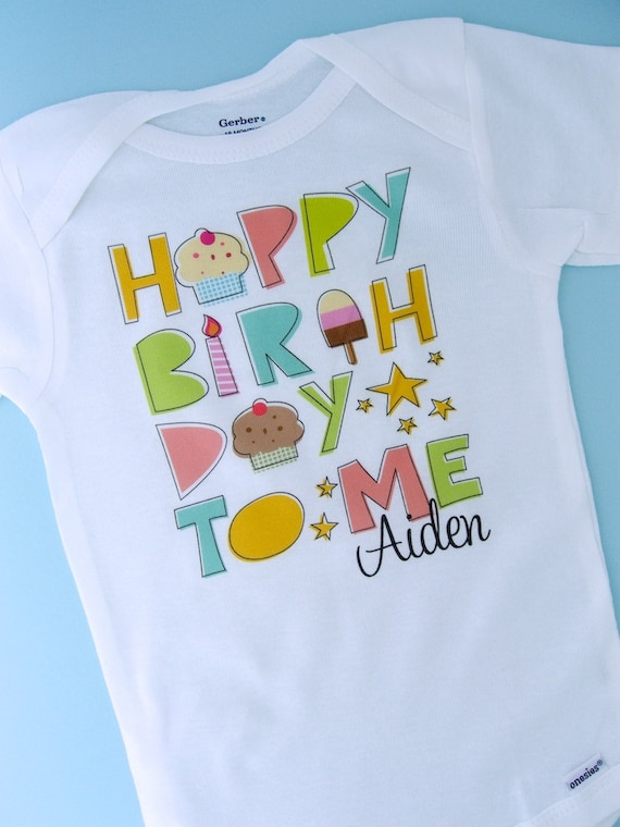 Birthday Shirt Personalized Happy To Me Or