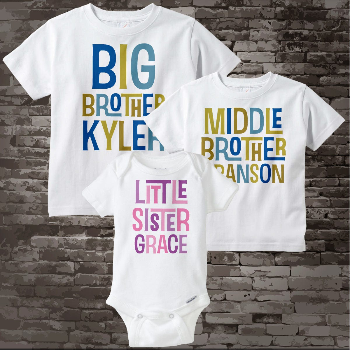 d2f70f541 ... Little Sister Shirt or Onesie Pregnancy Announcement 12162015a. gallery  photo ...