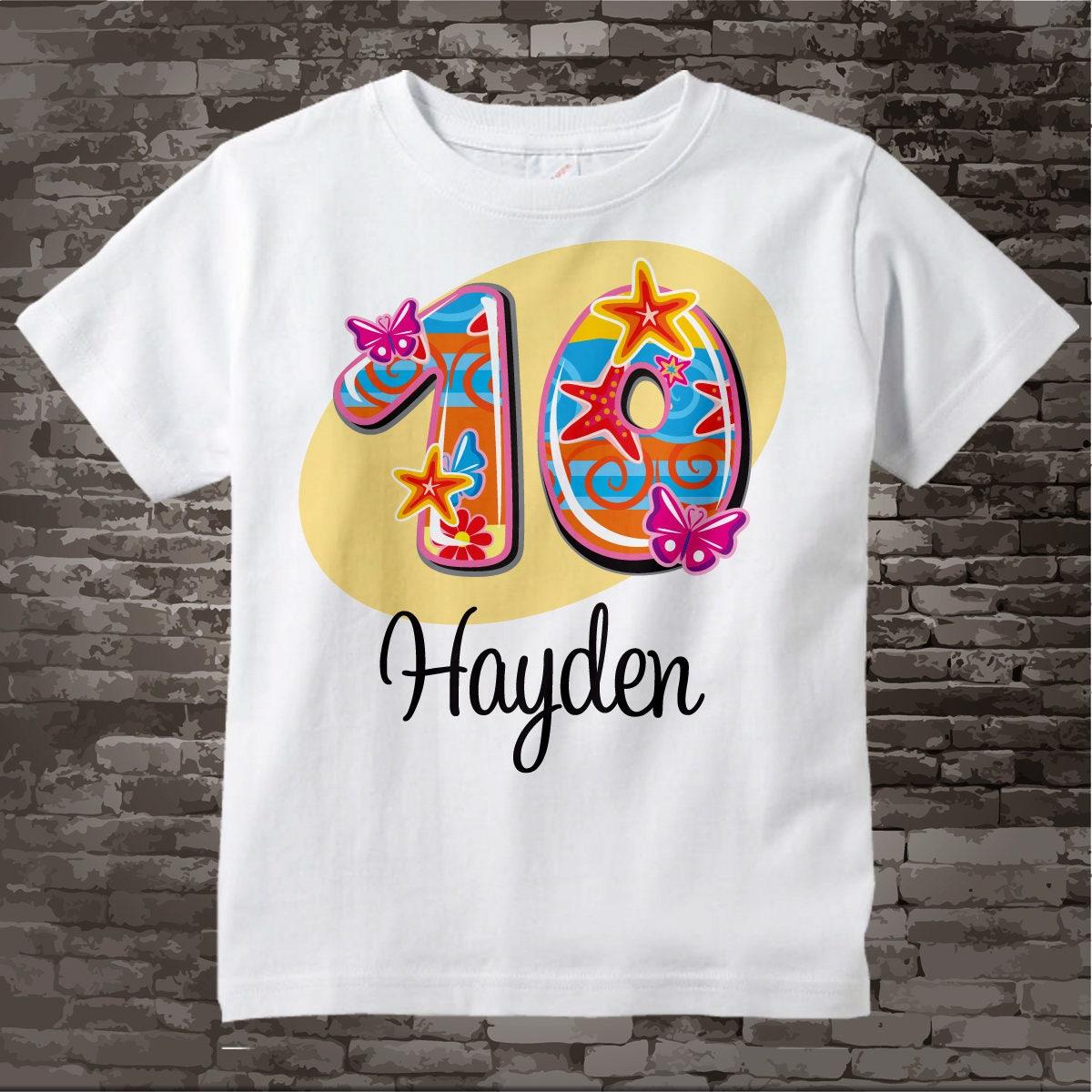 Toddler Girl Birthday Shirts