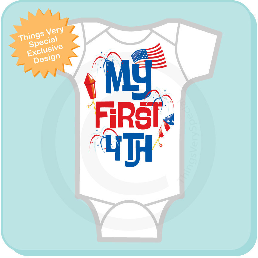 631ef77d9 ... My 1st July 4th Onesie | 4th July Shirt or Onesie | 1st 4th July  06182012a. gallery photo gallery photo gallery photo