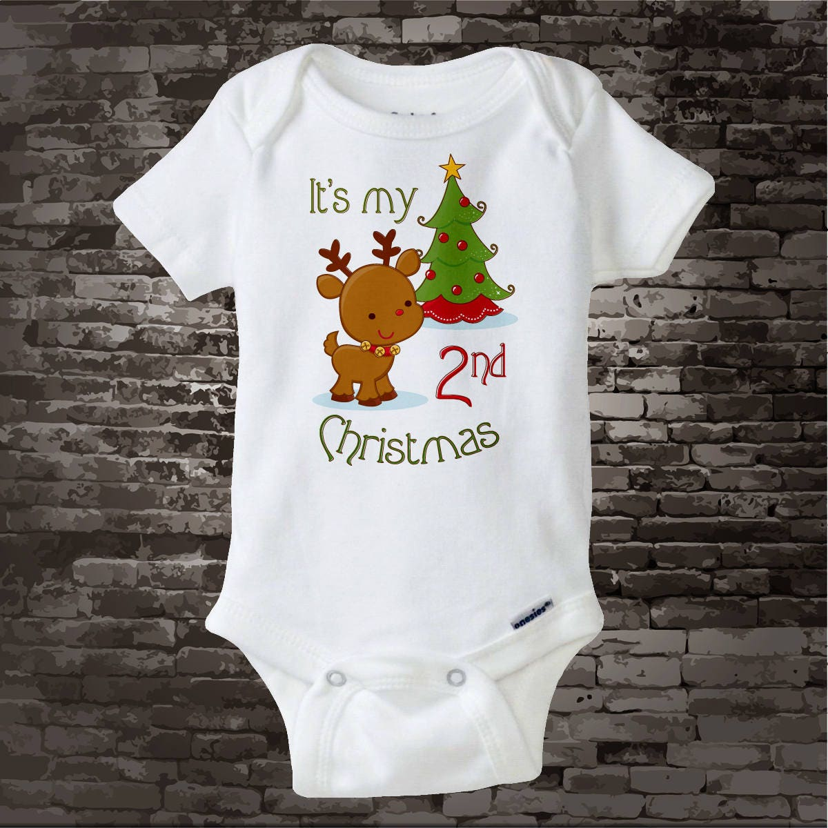 Kids Christmas Outfit baby\'s second Christmas baby | Etsy