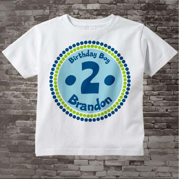2nd Birthday Shirt Two Year Old