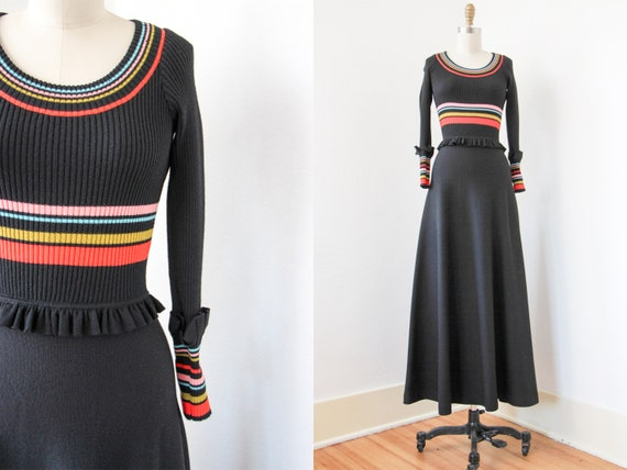 1960s Dress - Vintage 60s to 70s Dress - 1930s Ins